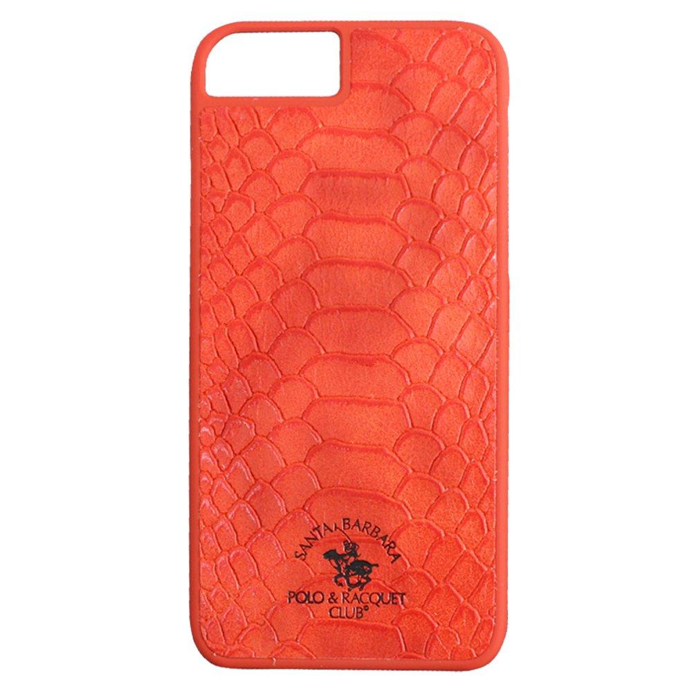 Кожаный чехол Polo Knight красный для iPhone 8 Plus/7 Plus
