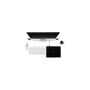 Беспроводное зарядное устройство + коврик для мышки Polo Mouse Pad Mix Wireless Charger черное