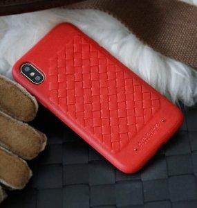 Чехол Polo Ravel красный для iPhone XS Max