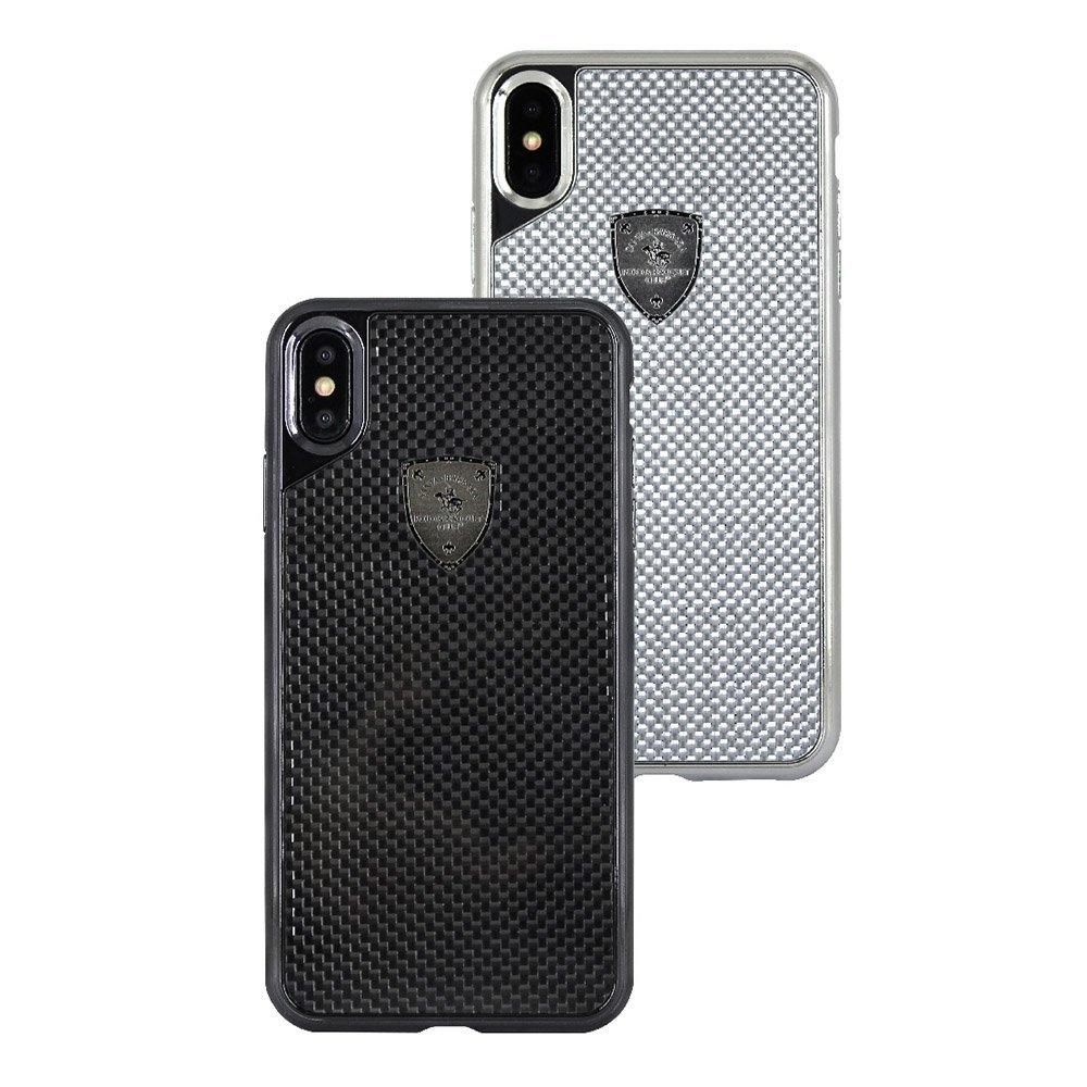 Чехол Polo Rev серебристый для iPhone XR