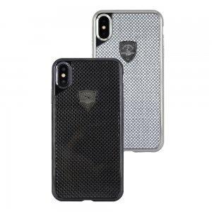 Чехол Polo Rev серебристый для iPhone X/XS