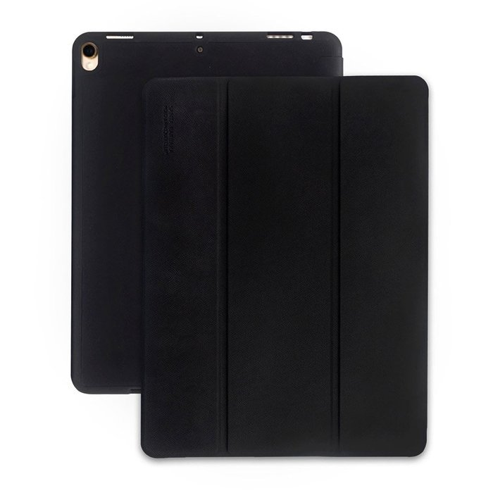 Чехол (книжка) Polo Cross Leather Slater черный для iPad Mini 5