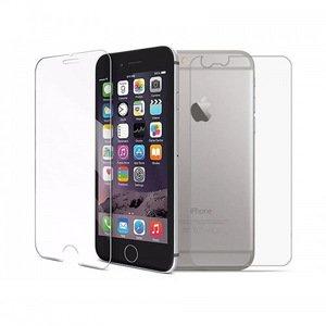Защитное стекло (для экрана) + защитная пленка (на заднюю панель) PRO explosion-proof глянцевое для iPhone 6/6S