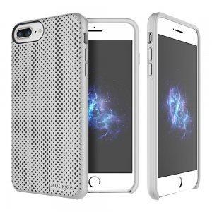 Перфорированный чехол Prodigee Breeze серебристый для iPhone 8 Plus/7 Plus