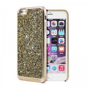 Чехол с блестками Prodigee Fancee золотой для iPhone 6/6S