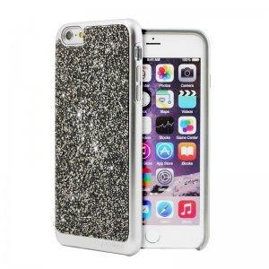 Чехол с блестками Prodigee Fancee серебристый для iPhone 6/6S Plus