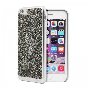 Чехол с блестками Prodigee Fancee серебристый для iPhone 6 Plus/6S Plus