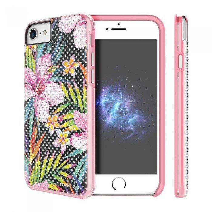 Чехол с рисунком Prodigee Muse Bloom разноцветный для iPhone 8/7