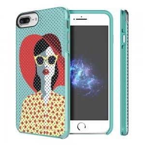Чехол с рисунком Prodigee Muse Madam разноцветный для iPhone 8 Plus/7 Plus