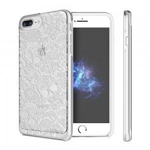Чехол с рисунком Prodigee Show Calavera белый для iPhone 8 Plus/7 Plus