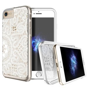 Чехол с рисунком Prodigee Show Lace белый для iPhone 8/7/SE 2020