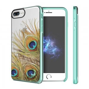 Чехол с рисунком Prodigee Show Peacock разноцветный для iPhone 8 Plus/7 Plus