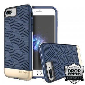 Защитный чехол Prodigee Stencil синий для iPhone 8 Plus/7 Plus