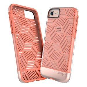Чехол с рисунком Prodigee Stencil розовый для iPhone 8/7