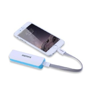 Внешний аккумулятор Remax Mini White Power Bank 2600мАч синий