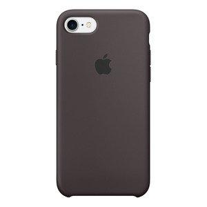 Чехол Apple Silicone Case коричневый для iPhone 8/7 (реплика)