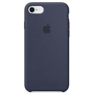 Силиконовый чехол темно-синий для iPhone 8/7/SE 2020