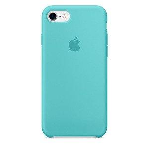 Силиконовый чехол цвет морской волны для iPhone 8/7/SE 2020