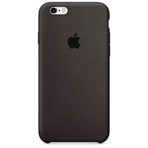 Чехол Apple Silicone Case шоколадный для iPhone 6/6S (реплика)