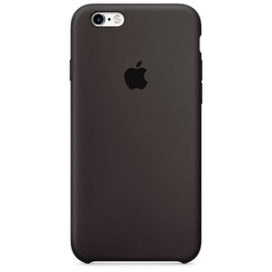 Силиконовый чехол шоколадный для iPhone 6/6S