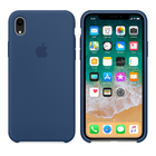 Чехол Apple Silicone Case синий для iPhone XR (реплика)