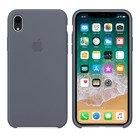 Чехол Apple Silicone Case лавандовый для iPhone XR (реплика)
