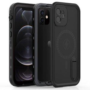 Защитные чехол Shellbox DOT Solid черный для iPhone 12