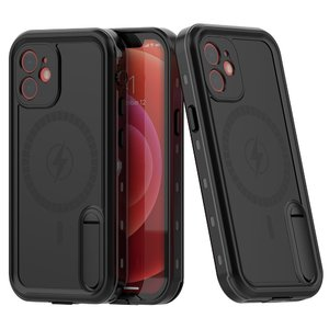 Защитные чехол Shellbox DOT Solid черный для iPhone 12 mini
