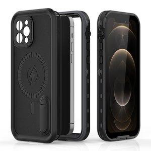 Защитные чехол Shellbox DOT Solid черный для iPhone 12 Pro