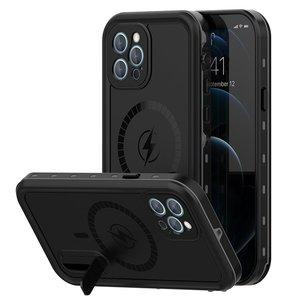Защитные чехол Shellbox DOT Solid черный для iPhone 12 Pro Max