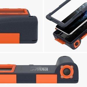 Чехол для дайвинга Shellbox QSK-1 Waterproof Diving Case (Solid Cover) синий