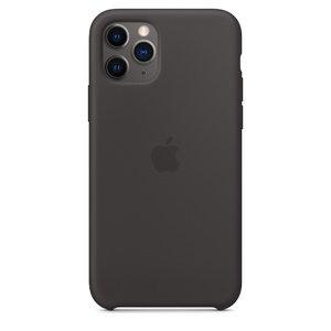 Силиконовый чехол чёрный для iPhone 11 Pro Max