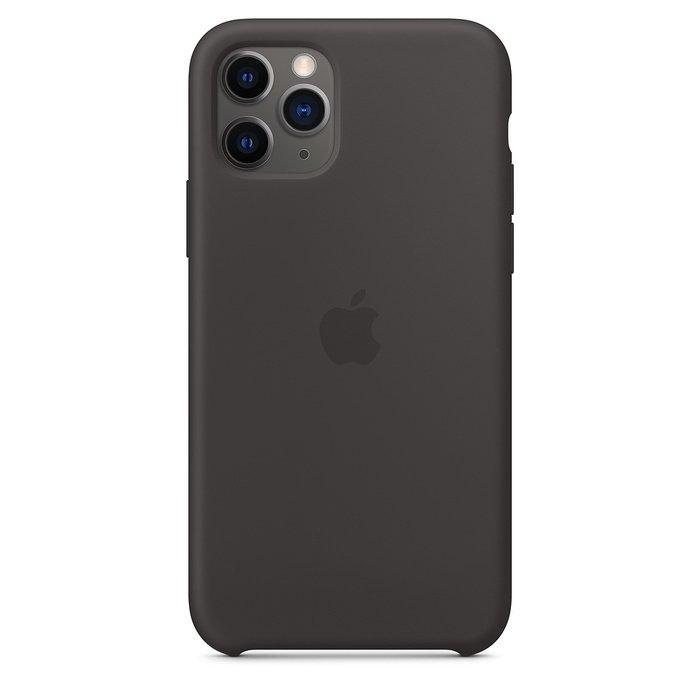 Силиконовый чехол чёрный для iPhone 11 Pro