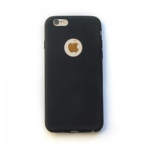 Silicone Case Black for iPhone 6/6S