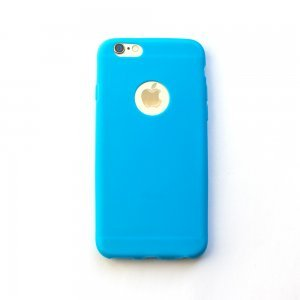 Silicone Case Blue for iPhone 6/6S