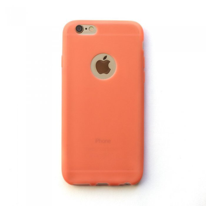 Silicone Case Coral for iPhone 6/6S
