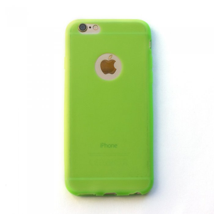 Silicone Case Green for iPhone 6/6S