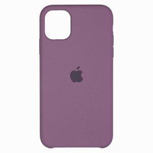 Силиконовый чехол лавандовый для iPhone 11 Pro