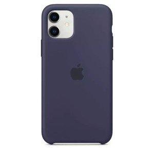 Силиконовый чехол синий для iPhone 11