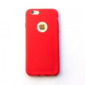 Silicone Case Red for iPhone 6/6S