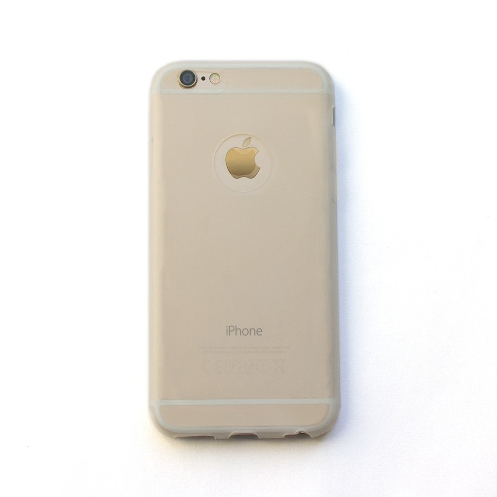 Silicone Case Clear for iPhone 6/6S