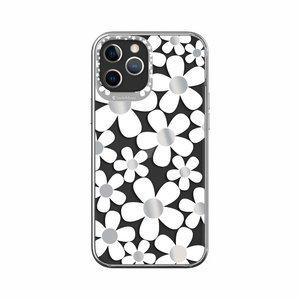 Прозрачный чехол Switcheasy Artist Fleur для iPhone 12 Pro Max