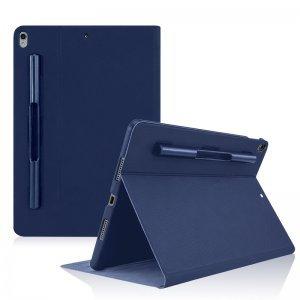 """Чехол с держателем для стилуса SwitchEasy CoverBuddy Folio синий для iPad Pro 10.5"""""""
