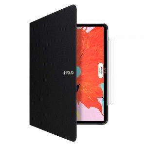 """Чехол с держателем для стилуса SwitchEasy CoverBuddy Folio черный для iPad Pro 11"""""""