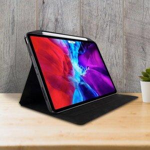 """Чехол с держателем для стилуса SwitchEasy CoverBuddy Folio Lite зелёный для iPad Pro 12.9"""" (2020)"""