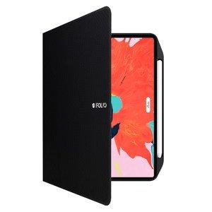 """Чехол с держателем для стилуса SwitchEasy CoverBuddy Folio Lite черный для iPad Pro 12.9"""" (2020)"""