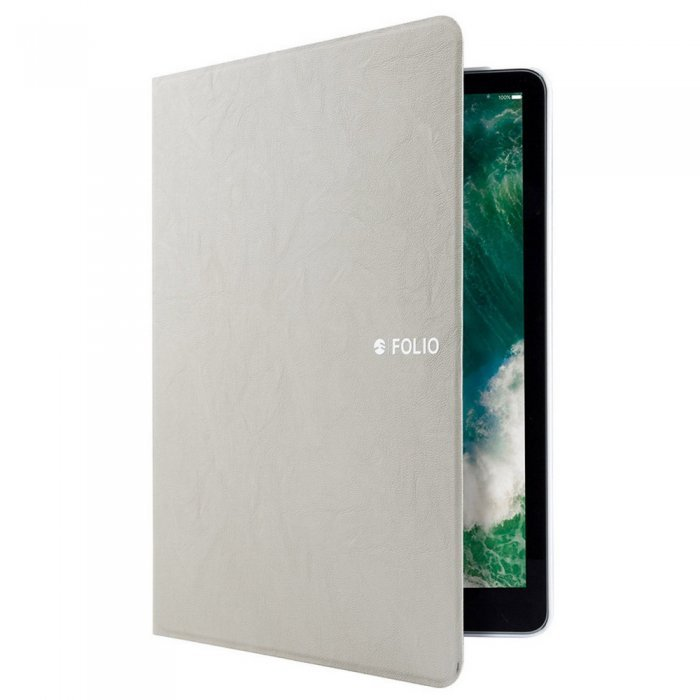 Чехол-книжка SwitchEasy CoverBuddy Folio бежевый для iPad 2017/2018