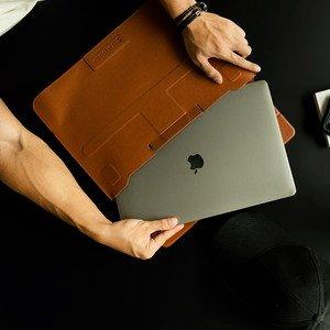 Чохол Switcheasy EasyStand коричневий для MacBook Air 13 (2018-2020), MacBook Pro 13 (2016-2020)