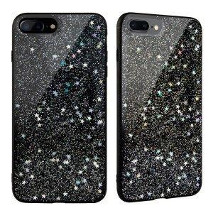 Чехол SwitchEasy Flash черный со звездами для iPhone 8 Plus/7 Plus