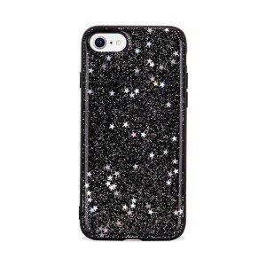 Чехол SwitchEasy Flash черный со звездами для iPhone 8/7/SE 2020